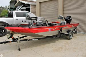 Used Triton 17 Tournament Sport Bass Boat For Sale