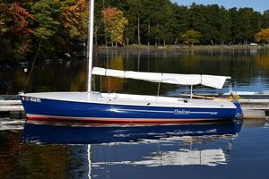 Used Flying Scot Patriot Edition Daysailer Sailboat For Sale
