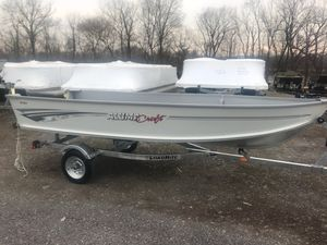 New Alumacraft V14 Sports Fishing Boat For Sale