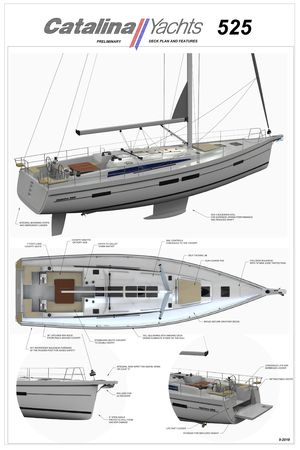New Catalina 545 Coming Soon Cruiser Sailboat For Sale