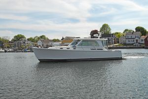 Used Back Cove Back Cove 37 Express Cruiser Boat For Sale