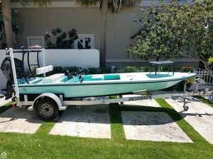 Used Beavertail Skiffs 16 Micro Skiff Fishing Boat For Sale