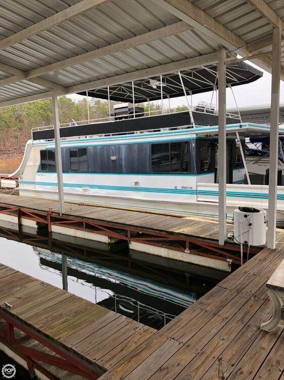 Used Catamaran Cruisers 48 House Boat For Sale