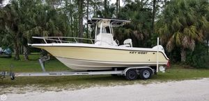 Used Key West 2300 CC Bluewater Center Console Fishing Boat For Sale