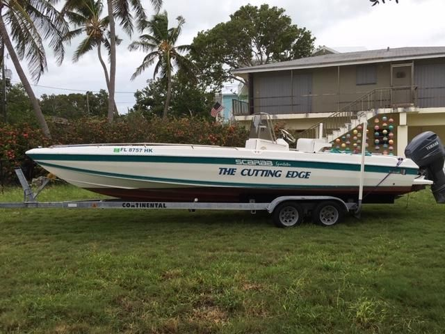 1995 Used Wellcraft Scarab Center Console Boat For Sale