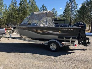 Used Smoker Craft 17 Osprey Aluminum Fishing Boat For Sale