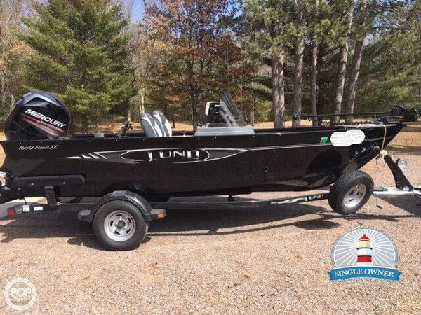 Used Lund 1650 Rebel XL Aluminum Fishing Boat For Sale