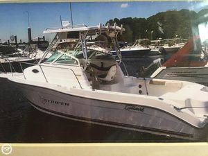 Used Seaswirl Striper 2300WA Walkaround Fishing Boat For Sale