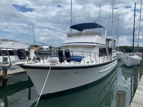 Used Jefferson 48 Cockpit Motor Yacht Aft Cabin Boat For Sale