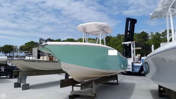 Used Tidewater 220CC Center Console Fishing Boat For Sale
