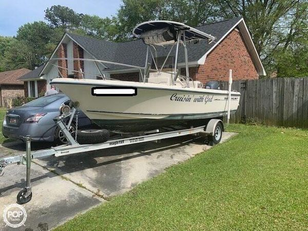 Used Sea Hunt 200 Triton Center Console Fishing Boat For Sale