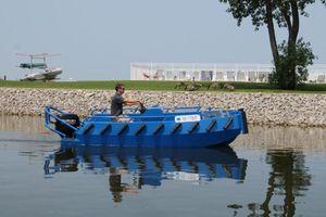 Used Ribjet Custom Aluminum Push BoatCustom Aluminum Push Boat Commercial Boat For Sale