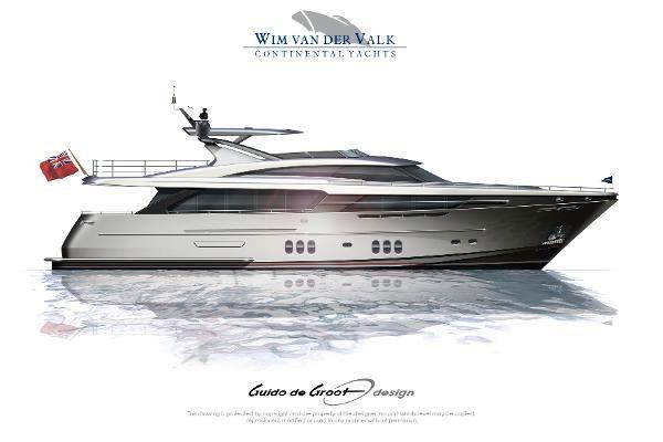 New Wim Van Der Valk Continental Iii Motoryacht Motor Yacht For Sale