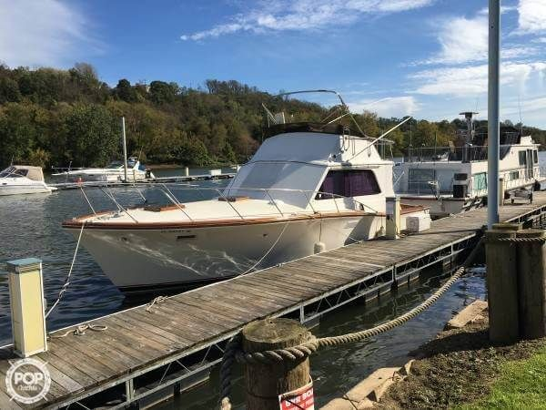 Used Egg Harbor 38 Sedan Sports Fishing Boat For Sale