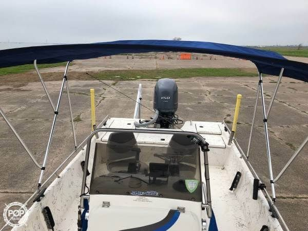 Used Blue Wave 220 Super T Center Console Fishing Boat For Sale