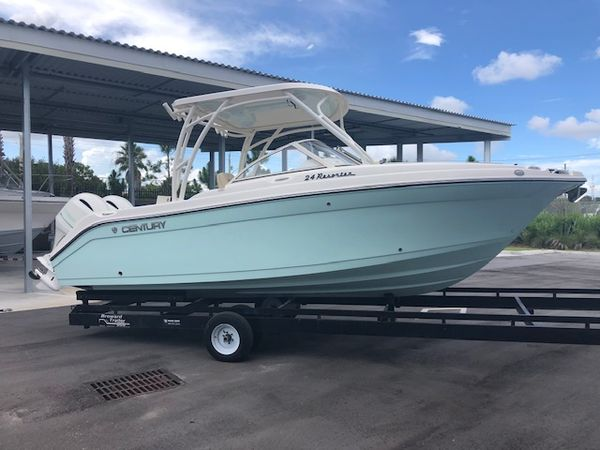 New Century 24 Resorter Dual Console Boat For Sale