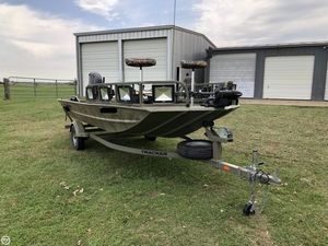 Used Tracker Grizzly 1760 MVX Aluminum Fishing Boat For Sale