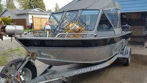Used Alumaweld Stryker 18 Aluminum Fishing Boat For Sale