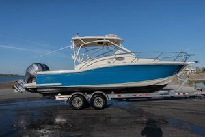 Used Scout Walkaround Fishing Boat For Sale