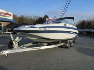 Used Crownline Deck Boat For Sale