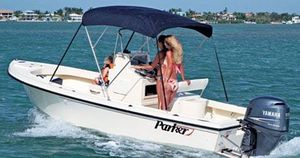 Used Parker Saltwater Fishing Boat For Sale