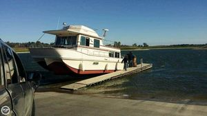 Used Holiday Mansion 39 Jumbo Barracuda House Boat For Sale