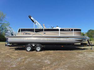 Used Aloha Pontoon Tropical Series 250 Pontoon Boat For Sale