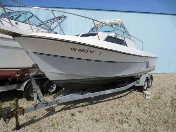 Used Aquasport 250 XF Freshwater Fishing Boat For Sale