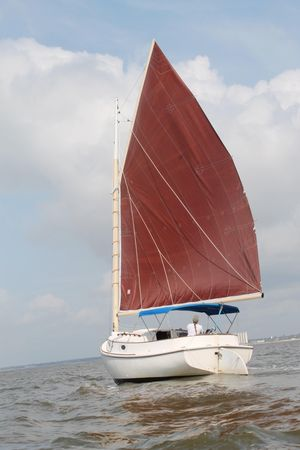 Used Atlantic City Catboat Cruiser Sailboat For Sale