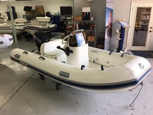 Used Mercury Inflatables 11 Rigid Sports Inflatable Boat For Sale