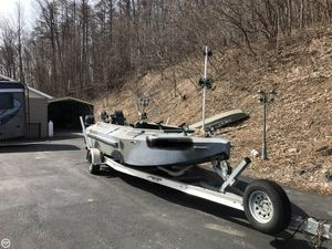 Used Duck Water Ocean 18 Aluminum Fishing Boat For Sale