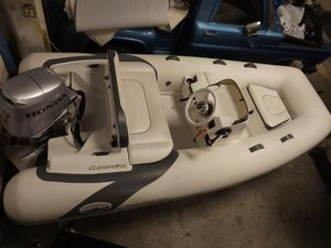 Used Walker Bay 340 Generation Rigid Sports Inflatable Boat For Sale