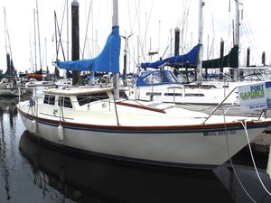 Used Gulf 29 Pilothouse Sailboat For Sale