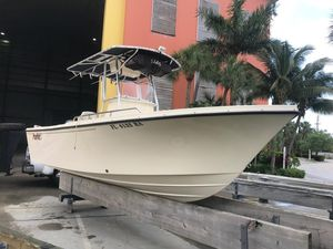 Used Parker 2100 Center Console Center Console Fishing Boat For Sale