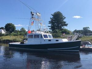 Used Young Brothers 38 Downeast Fishing Boat For Sale