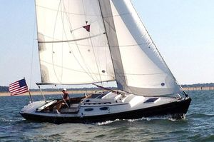 Used Alerion Express 28 Shoal Draft Daysailer Sailboat For Sale