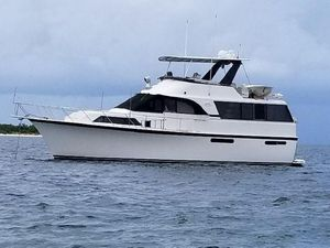 Used Ocean 48 Motor Yacht Aft Cabin Boat For Sale