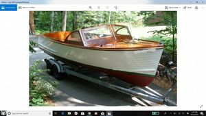 Used Lyman 23 Runabout Antique and Classic Boat For Sale