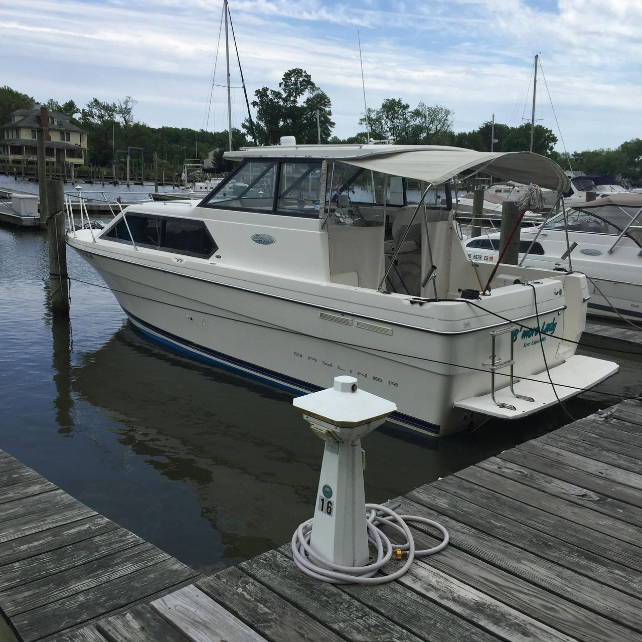 used bayliner 2859 ciera classic express cruiser boat for sale