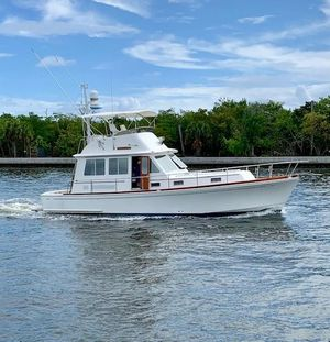 Used Grand Banks Fly Bridge Sedan Motor Yacht For Sale