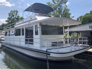 Used Gibson 50 Executive House Boat For Sale
