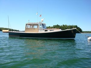 Used Holland Hardtop Cruiser Downeast Fishing Boat For Sale