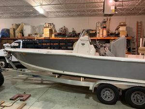 Used Tidewater 2400 Carolina Bay Saltwater Fishing Boat For Sale