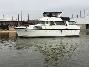 Used Hatteras 56 Wide Body Motor Yacht For Sale