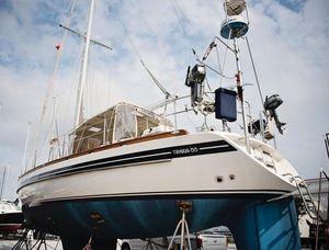Used Tayana 55 NO Teak Decks Cruiser Sailboat For Sale