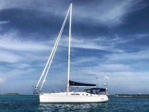 Used Saga 43 Cruiser Sailboat For Sale