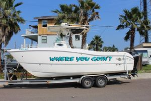 Used World Cat 250 SF Center Console Fishing Boat For Sale