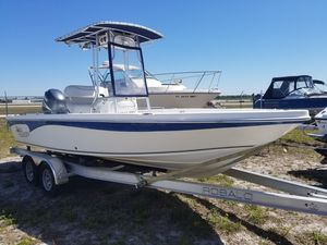 Used Sea Chaser 210 LX Bay Runner Saltwater Fishing Boat For Sale