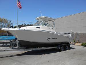 Used Seaswirl Striper 2601 Walk Around Center Console Fishing Boat For Sale