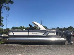 New Sanpan 2810 SBW Twin Pontoon Boat For Sale